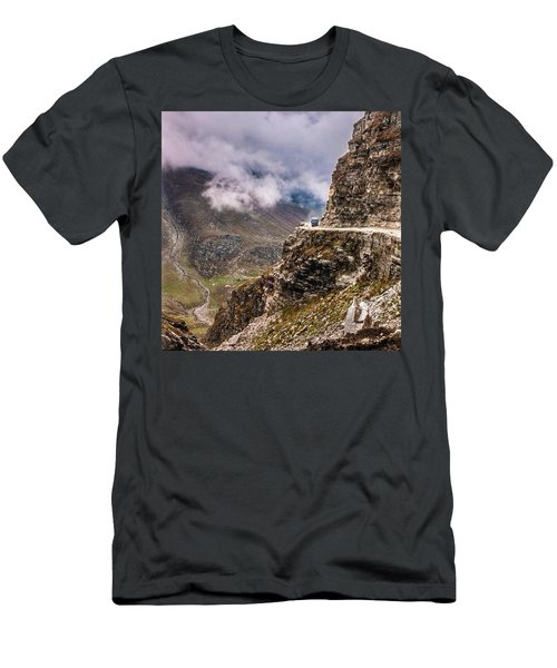Our Bus Journey Through The Himalayas Men's T-Shirt (Athletic Fit)