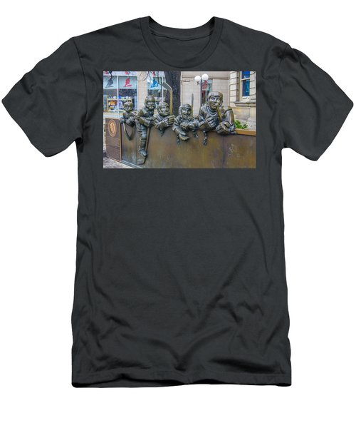 Our Game Men's T-Shirt (Slim Fit) by Guy Whiteley