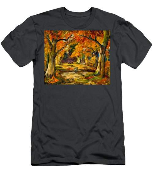 Our Place In The Woods Men's T-Shirt (Athletic Fit)