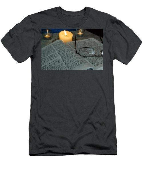 Our Shabbat Men's T-Shirt (Athletic Fit)
