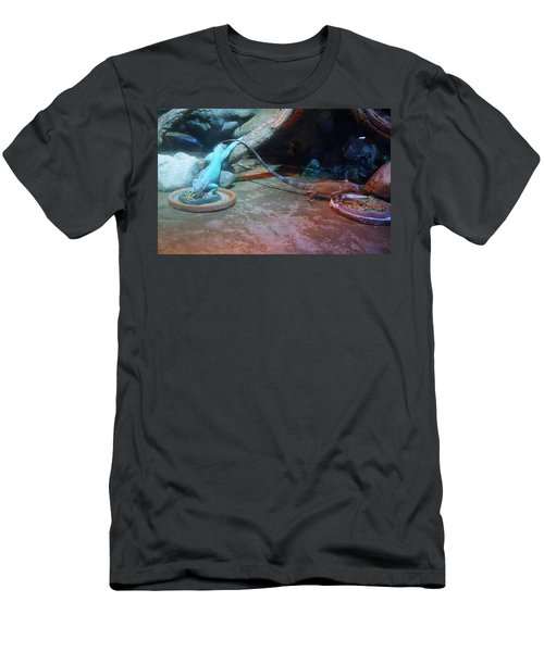 Out Of Africa Lizards Men's T-Shirt (Athletic Fit)