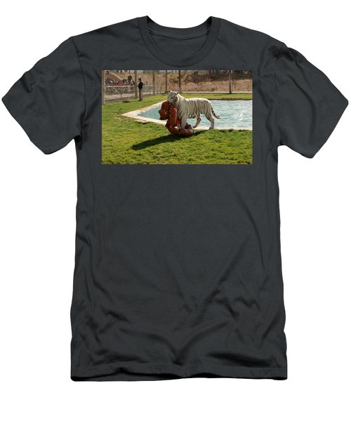 Out Of Africa Tiger Splash 2 Men's T-Shirt (Athletic Fit)