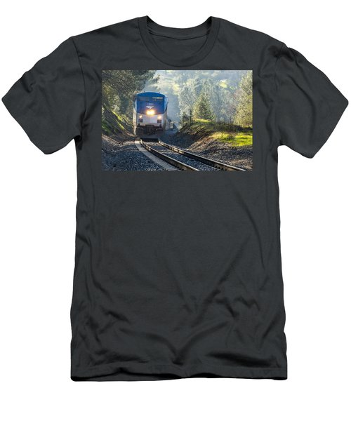 Out Of The Mist Men's T-Shirt (Slim Fit) by Jim Thompson