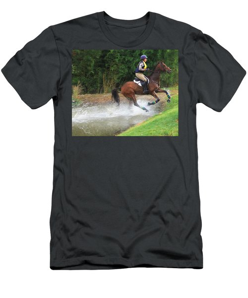 Out Of The Water  Men's T-Shirt (Athletic Fit)