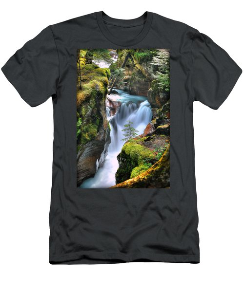Out On A Ledge Men's T-Shirt (Athletic Fit)