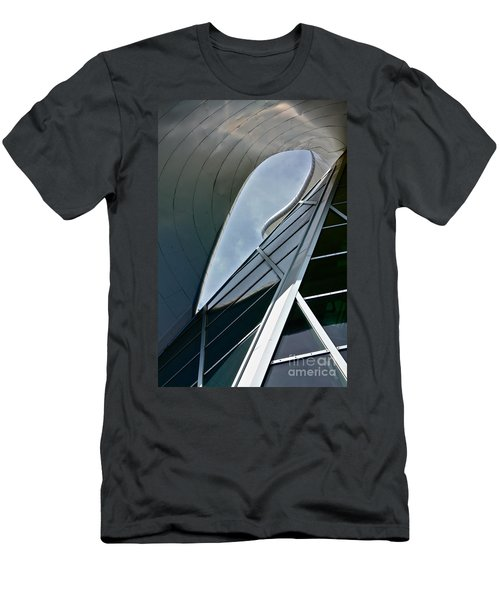 Outer Space Men's T-Shirt (Slim Fit) by Linda Bianic