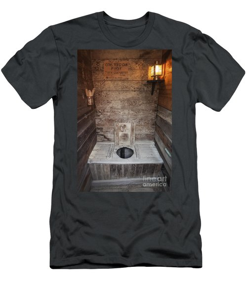 Outhouse Interior Men's T-Shirt (Athletic Fit)