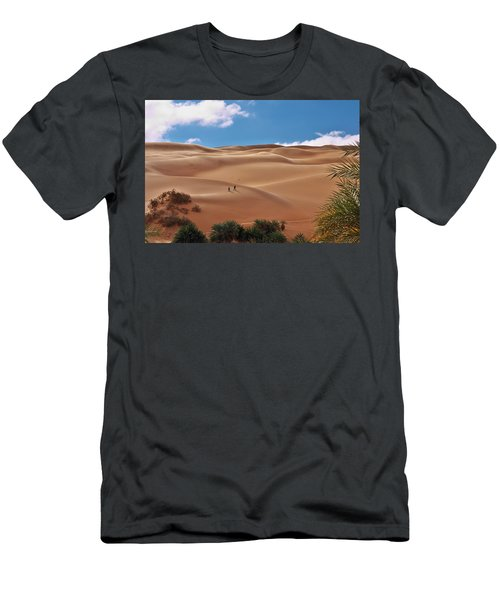 Over The Dunes Men's T-Shirt (Athletic Fit)