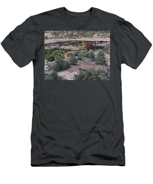 Owachomo Natural Bridge Men's T-Shirt (Athletic Fit)