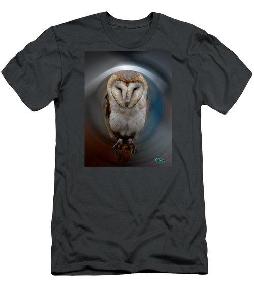 Owl Alba  Spain  Men's T-Shirt (Slim Fit) by Colette V Hera  Guggenheim