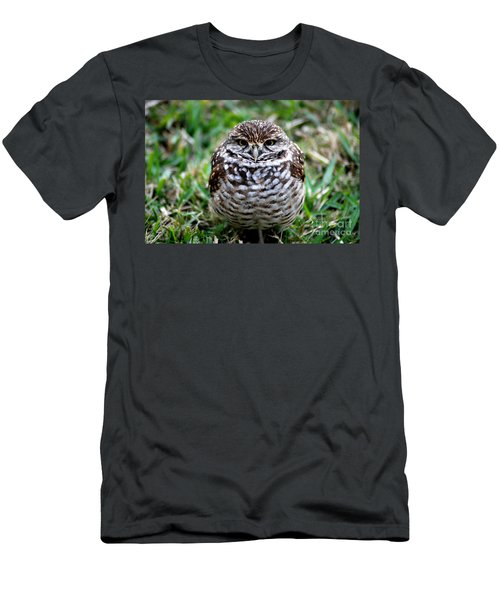 Owl. Best Photo Men's T-Shirt (Athletic Fit)