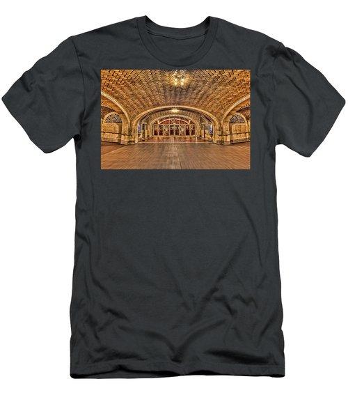 Oyster Bar Restaurant Men's T-Shirt (Athletic Fit)