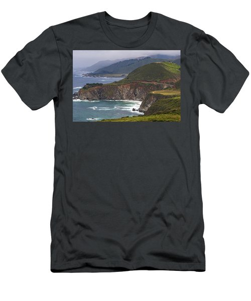 Pacific Coast View Men's T-Shirt (Athletic Fit)