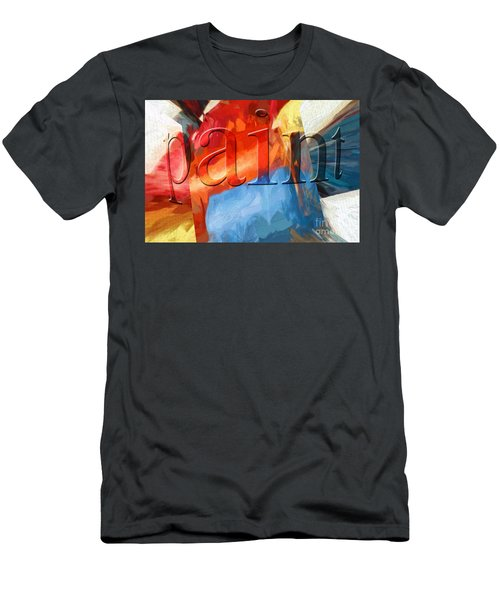 Men's T-Shirt (Athletic Fit) featuring the digital art Paint by Margie Chapman