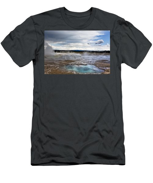 Paint Pots Men's T-Shirt (Athletic Fit)