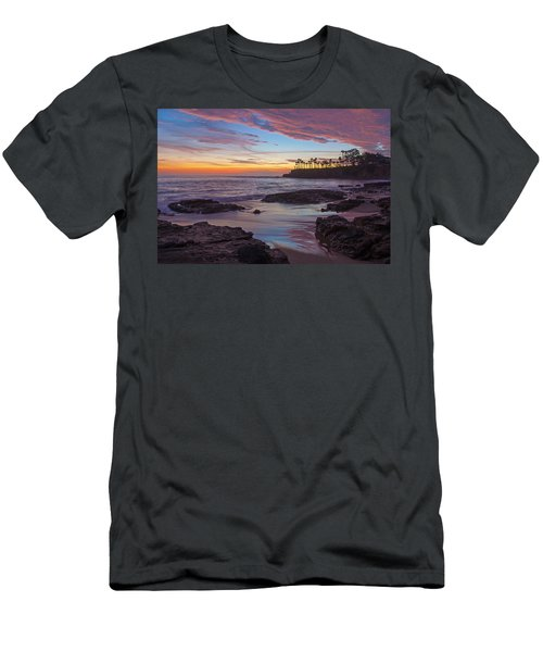 Painted Sky Laguna Beach Men's T-Shirt (Athletic Fit)