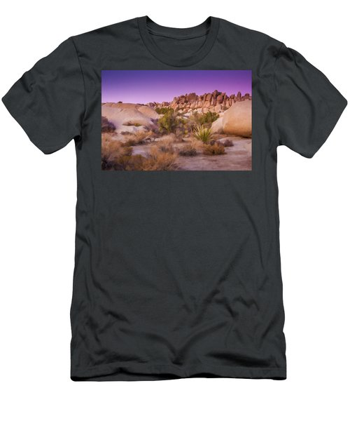 Painterly Desert Men's T-Shirt (Athletic Fit)