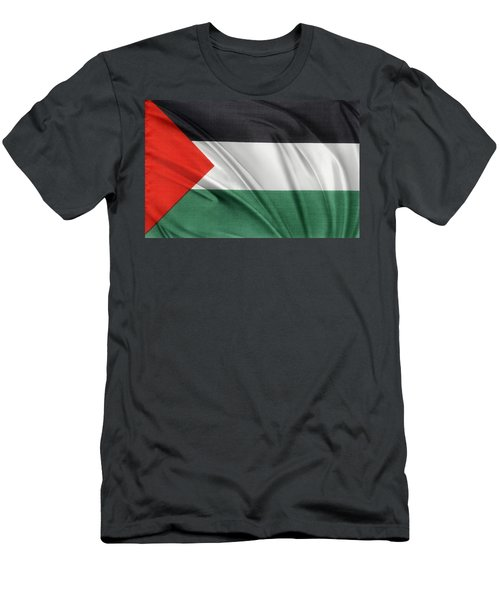 Palestine Flag Men's T-Shirt (Athletic Fit)