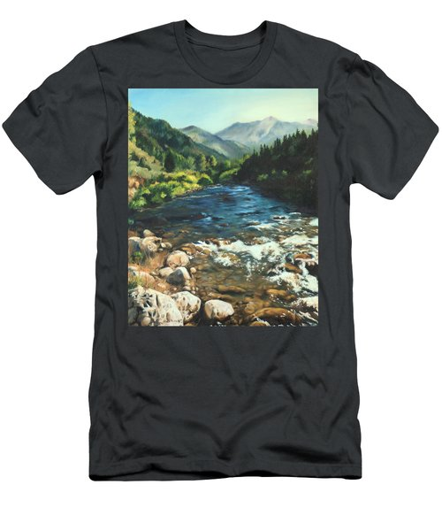 Palisades Creek  Men's T-Shirt (Athletic Fit)
