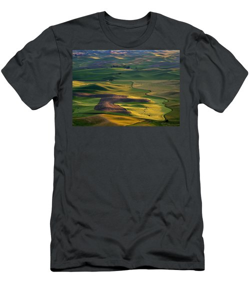 Palouse Shadows Men's T-Shirt (Athletic Fit)