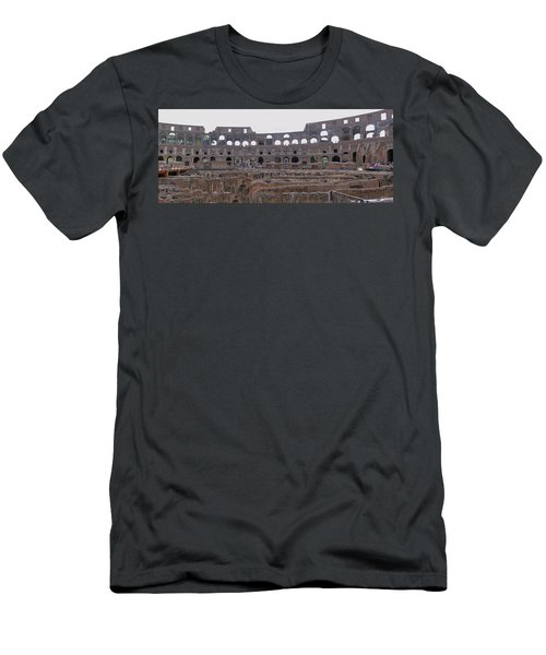 Panoramic View Of The Colosseum Men's T-Shirt (Athletic Fit)