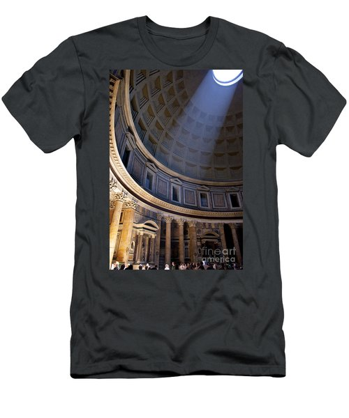Men's T-Shirt (Athletic Fit) featuring the photograph Pantheon Interior by Brian Jannsen