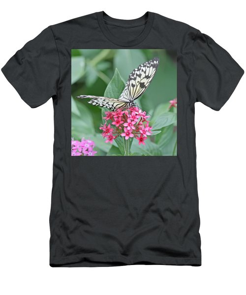 Paper Kite Butterfly - 2 Men's T-Shirt (Athletic Fit)