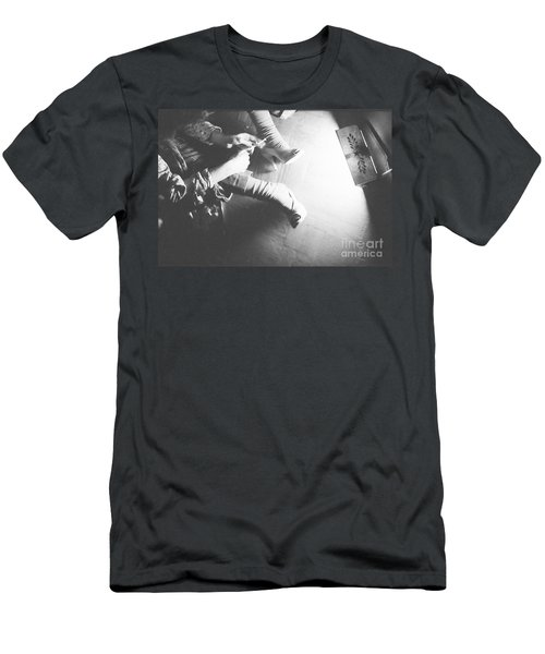 Men's T-Shirt (Slim Fit) featuring the photograph Paradise Hell by Steven Macanka