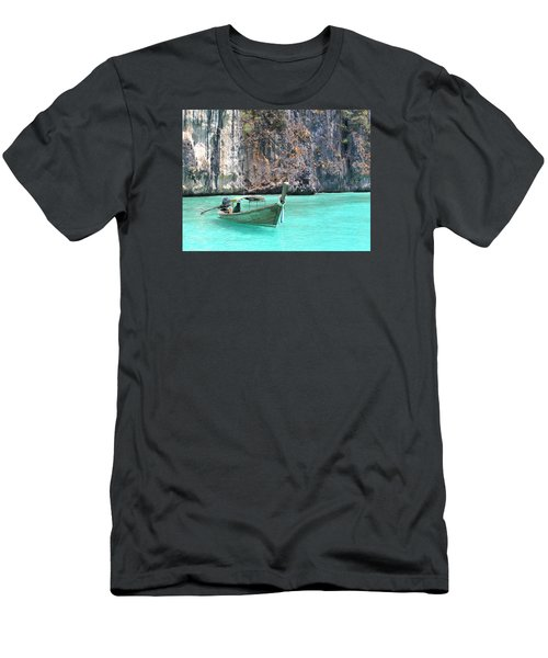 Paradise Water Holiday Men's T-Shirt (Athletic Fit)