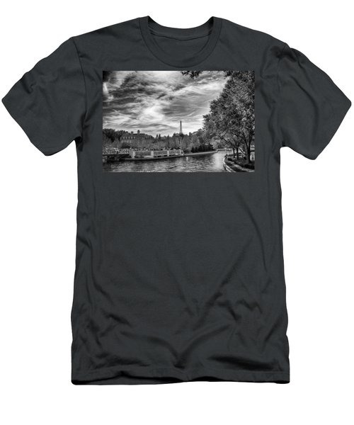 Men's T-Shirt (Athletic Fit) featuring the photograph Paris by Howard Salmon
