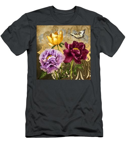 Parisian Peonies Men's T-Shirt (Athletic Fit)