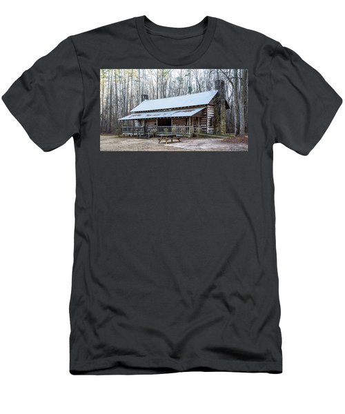 Park Ranger Cabin Men's T-Shirt (Athletic Fit)