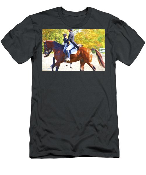 Passing In The Ring Men's T-Shirt (Athletic Fit)