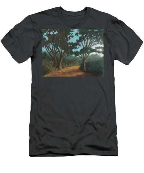 Path By Lake Murray 01 Men's T-Shirt (Athletic Fit)