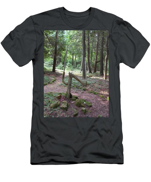Path Of Choice Men's T-Shirt (Athletic Fit)