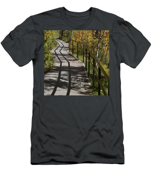 Path Shadow Men's T-Shirt (Athletic Fit)