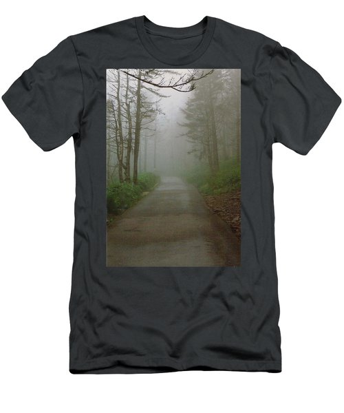Path To Clingmans Dome Men's T-Shirt (Athletic Fit)