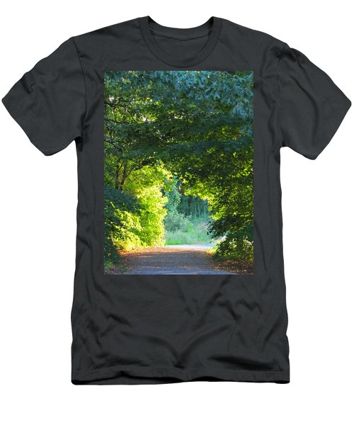 Path To The Light Men's T-Shirt (Athletic Fit)