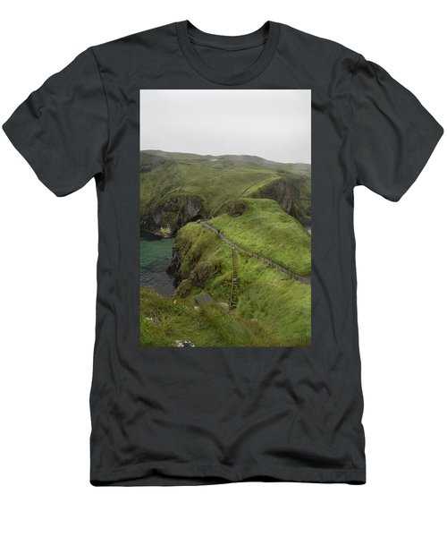 Pathway Carrick-a-rede Northern Ireland Men's T-Shirt (Athletic Fit)