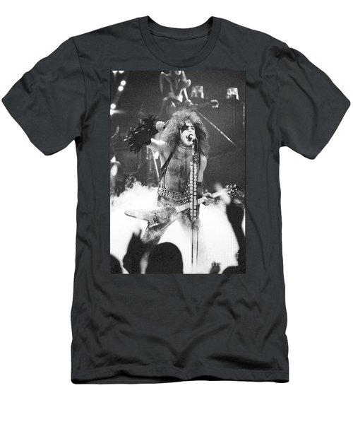 Paul Stanley In The Garden Men's T-Shirt (Athletic Fit)