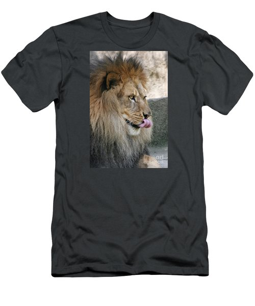 Men's T-Shirt (Slim Fit) featuring the photograph Pbbbt by Judy Whitton
