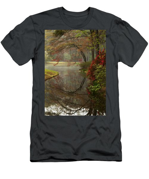 Peace In A Garden Men's T-Shirt (Athletic Fit)
