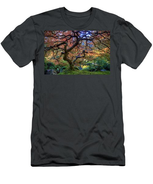 Peaceful Autumn Morning Men's T-Shirt (Athletic Fit)