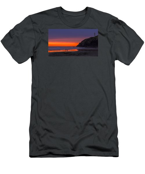 Peaceful Evening Men's T-Shirt (Slim Fit) by Robert Bales