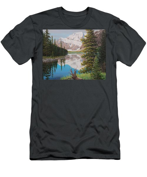 Peaceful Waters Men's T-Shirt (Athletic Fit)