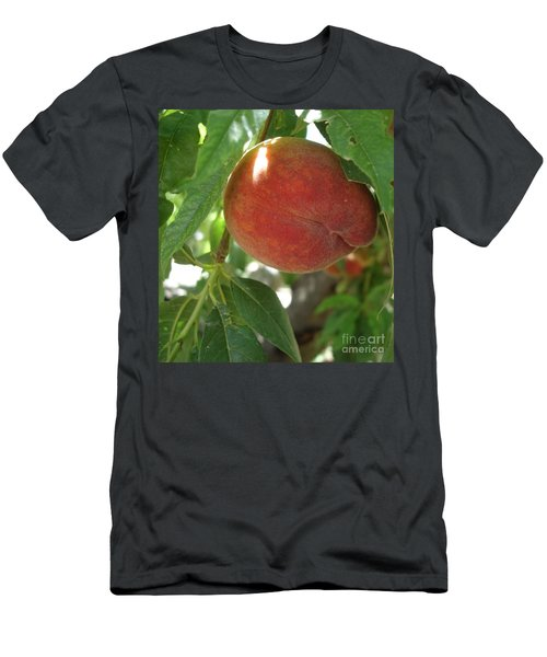 Peach Men's T-Shirt (Athletic Fit)