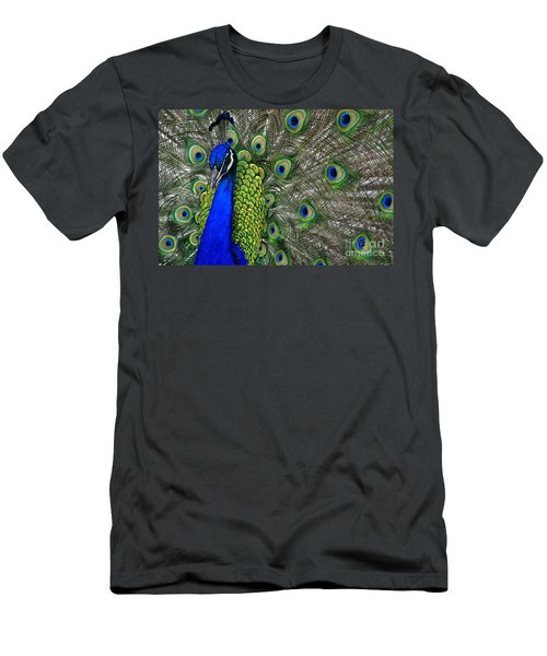 Peacock Head Men's T-Shirt (Athletic Fit)