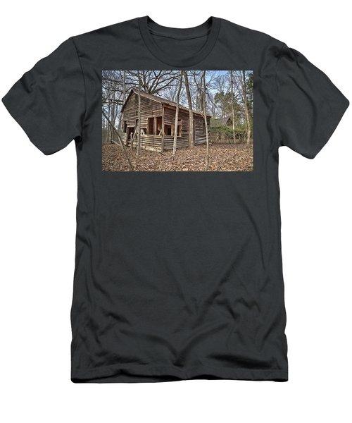 Peak Ruins-1 Men's T-Shirt (Athletic Fit)