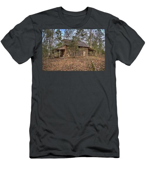 Peak Ruins-2 Men's T-Shirt (Athletic Fit)