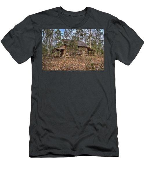 Peak Ruins-2 Men's T-Shirt (Athletic Fit)